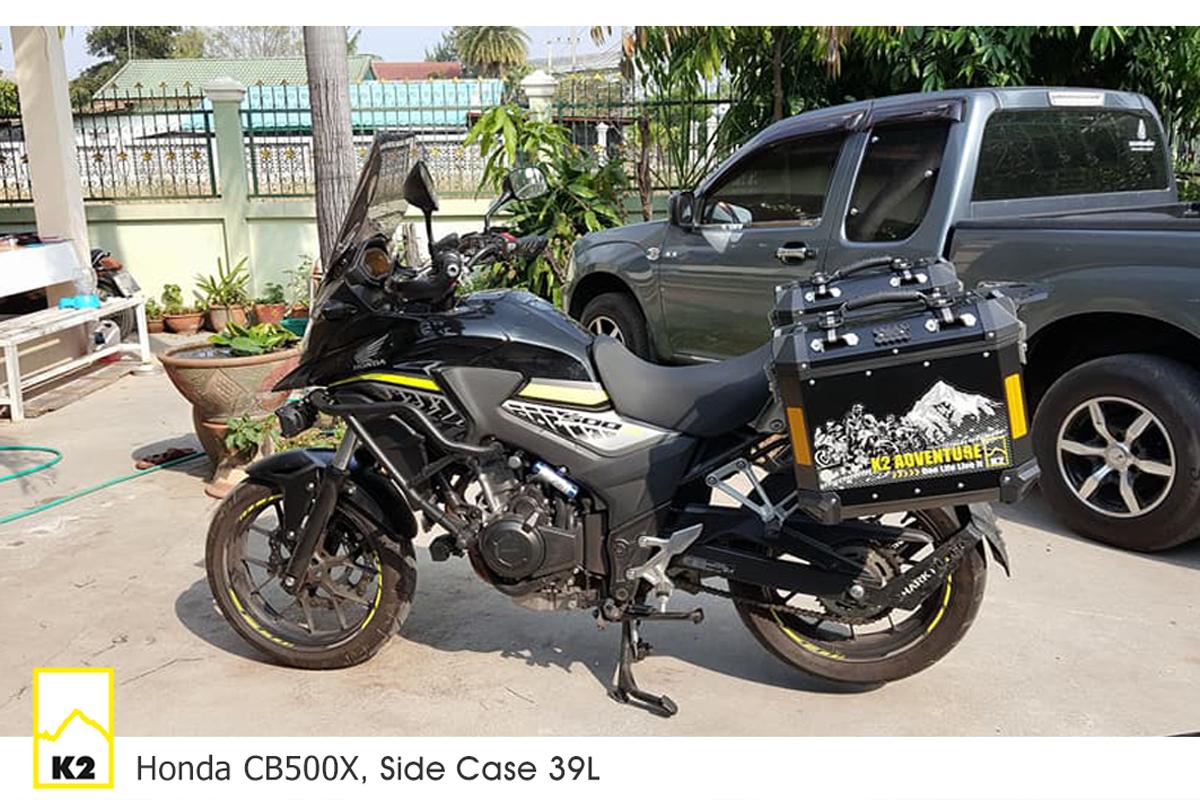 ราคาปี๊บพร้อมแร็ค CB500X