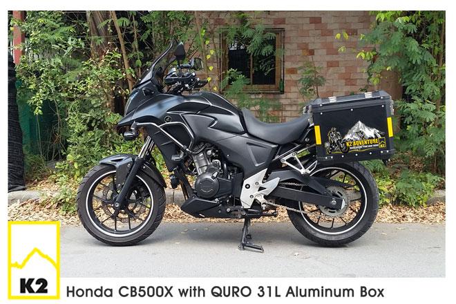 ราคาปี๊บพร้อมแร็ค CB500X 2017