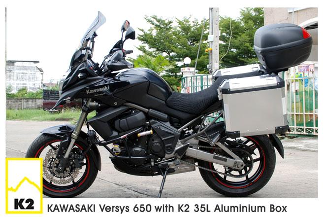ราคาปี๊บพร้อมแร็ค Kawasaki Versy 650