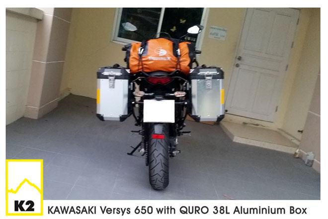 ราคาปี๊บพร้อมแร็ค Kawasaki Versys650
