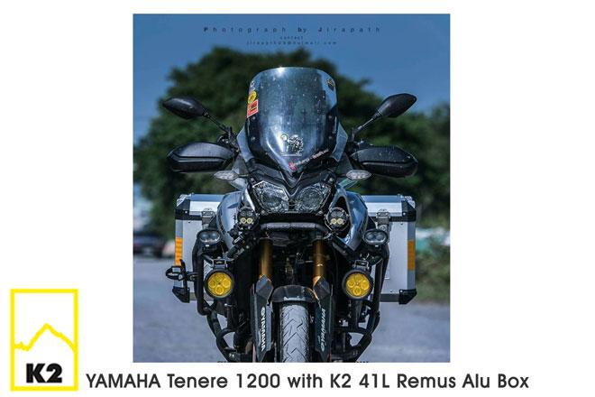 ราคาปี๊บพร้อมแร็ค Yamaha Tenere 1200