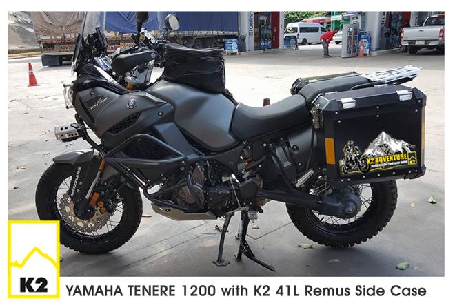 ราคาปี๊บพร้อมแร็ค Yamaha Supertenere