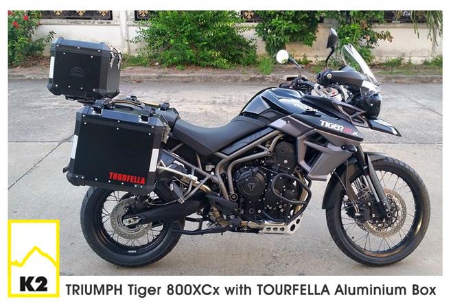 ราคาปี๊บพร้อมแร็ค Tiger 800 XC