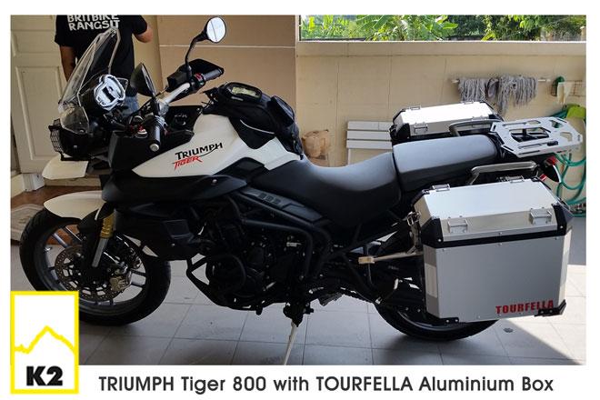 ราคาปี๊บ พร้อมแร็ค Triumph Tiger 800XC
