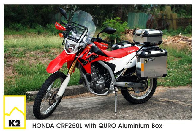 ราคาปี๊บพร้อมแร็ค Honda CRF250L