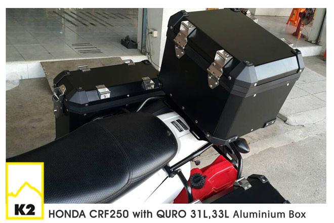ราคาปี๊บพร้อมแร็ค Honda CRF250