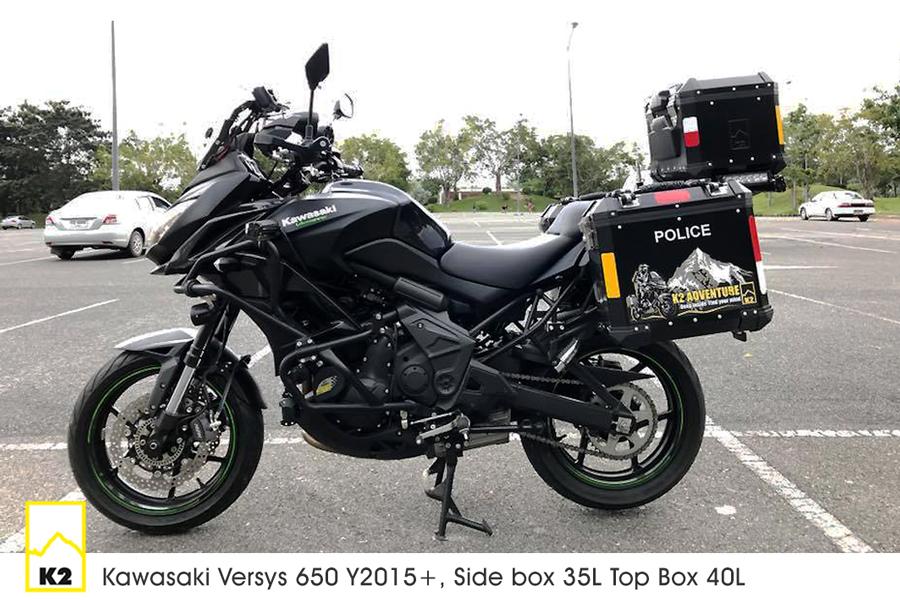 ราคาปี๊บพร้อมแร็ค Versys 650