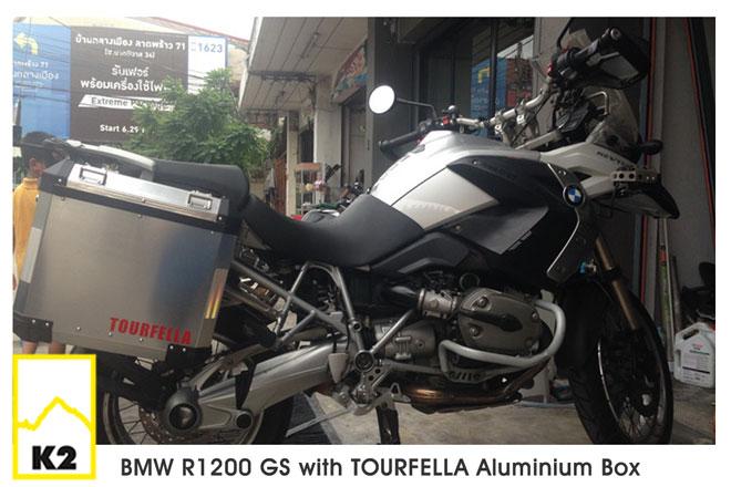 ขายปี๊บข้างพร้อมแร็ค BMW R 1200 GS
