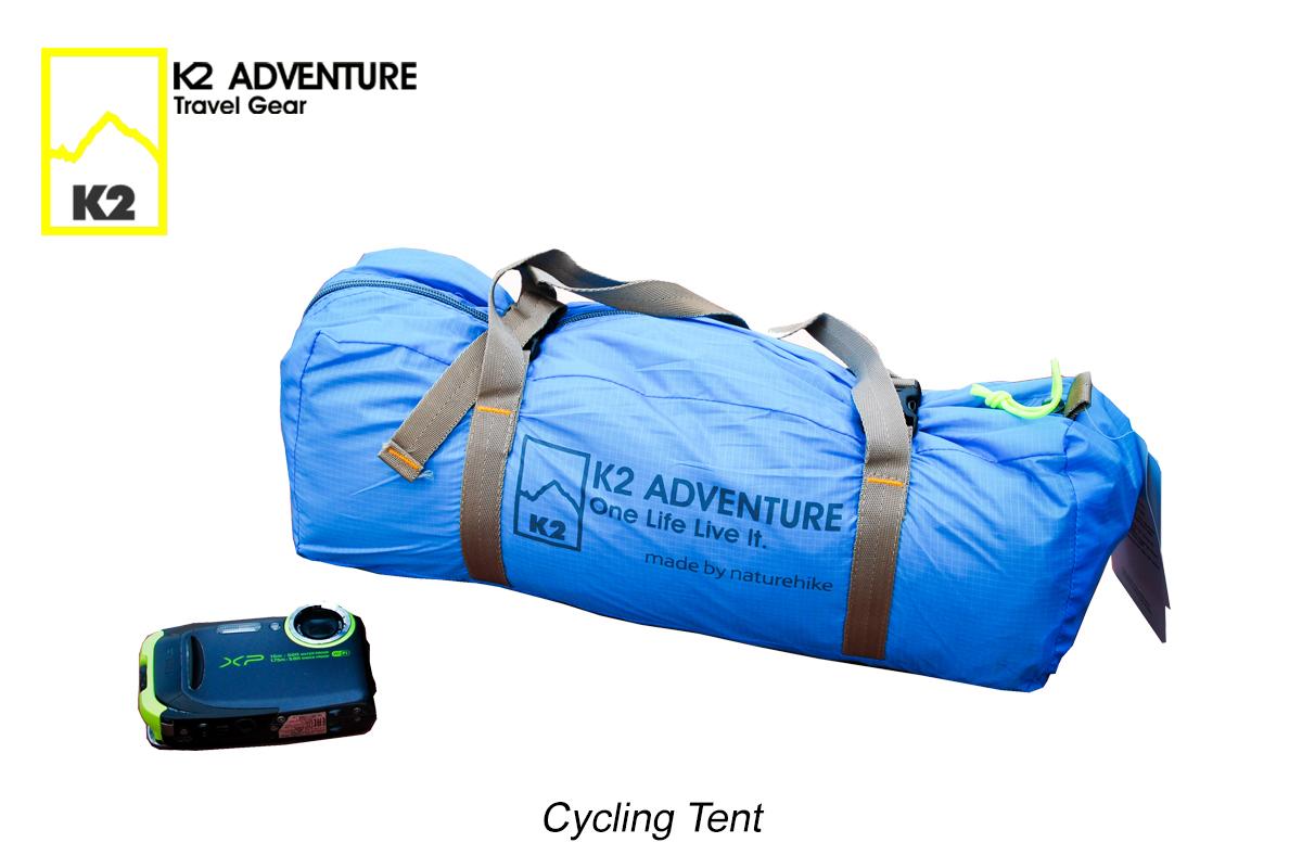 ถุงใส่เต็นท์จักรยานนอนเดี่ยว K2 ADVENTURE รุ่น Cycling