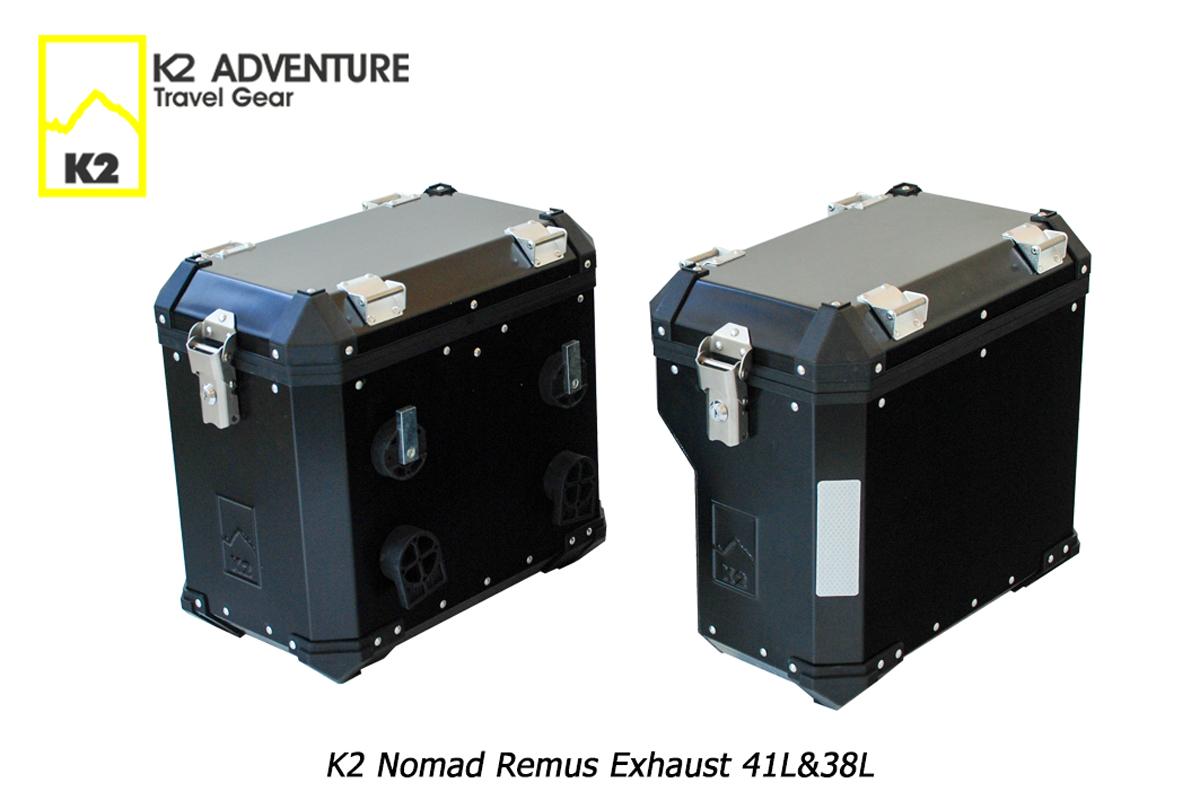 ราคากล่องข้างหลบท่อมอเตอร์ไซค์ K2 Nomad