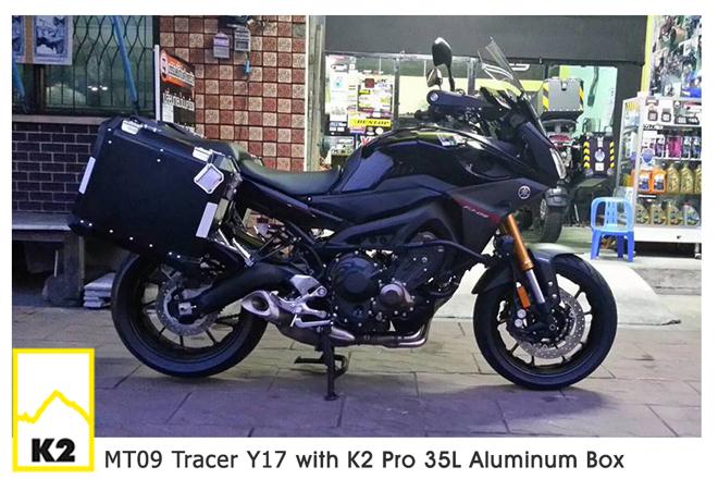 ราคาปี๊บพร้อมแร็ค MT09 Tracer ปี 2017