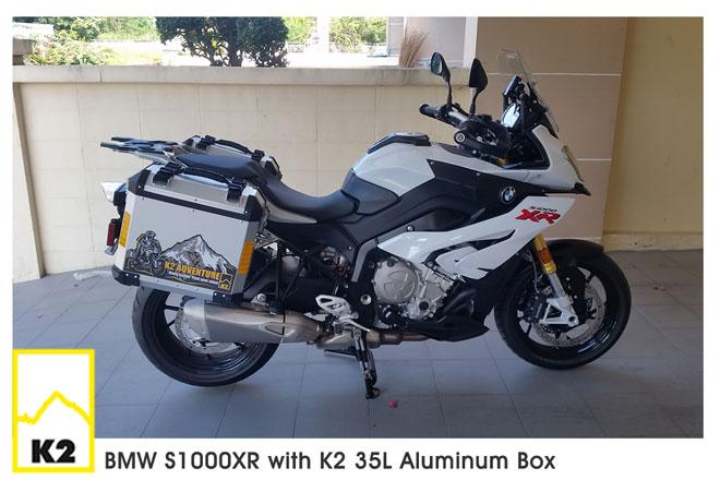 ราคาปี๊บพร้อมแร็ค BMW S1000 XR