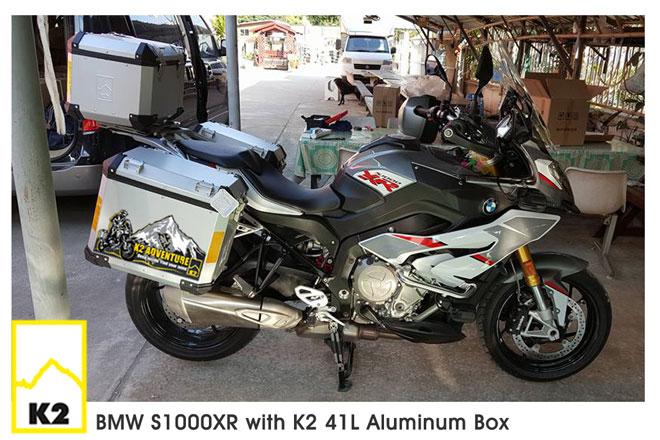 ราคาปี๊บพร้อมแร์ค BMW S1000XR