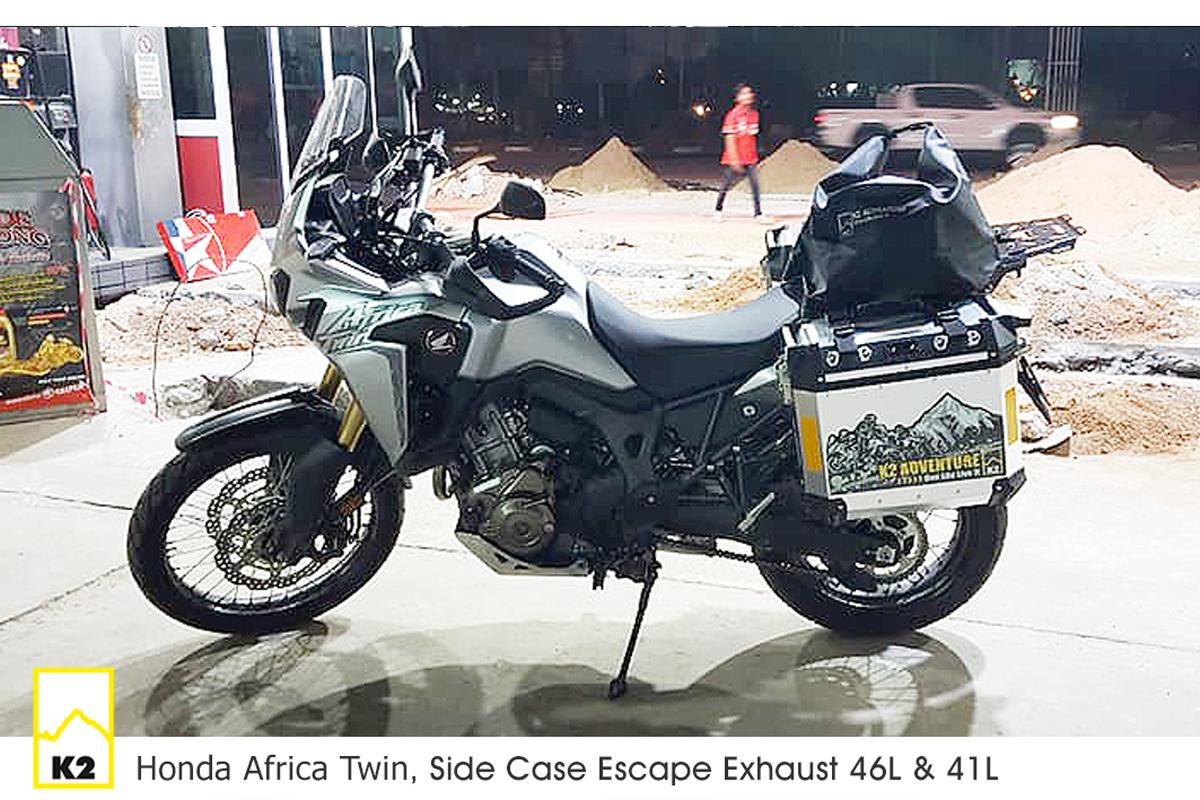 ราคาปี๊บพร้อมแร็ค Africa twin