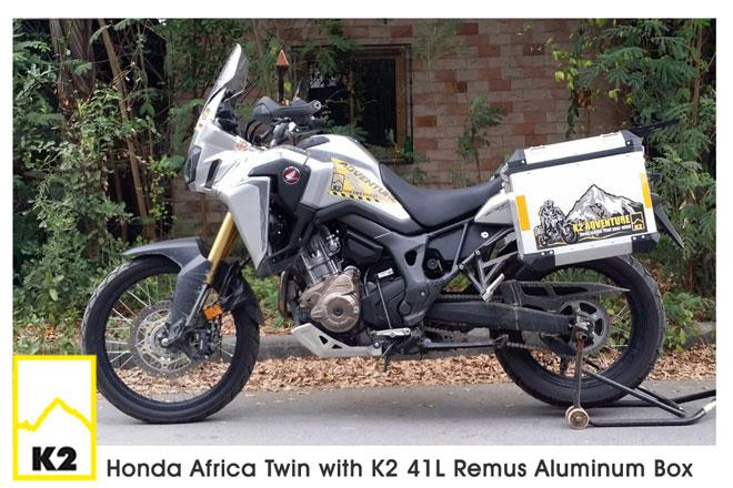 ราคาปี๊บพร้อมแร็ค Honda Africa Twin