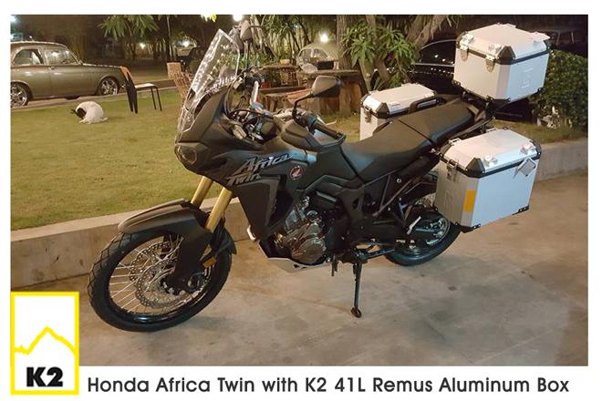ราคาปี๊บพร้อมแร็ค Honda Africatwin