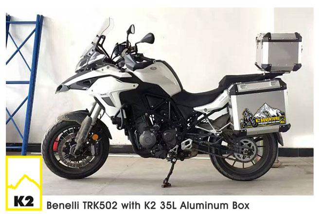 ราคาปี๊บพร้อมแร็ค Benelli TRK502