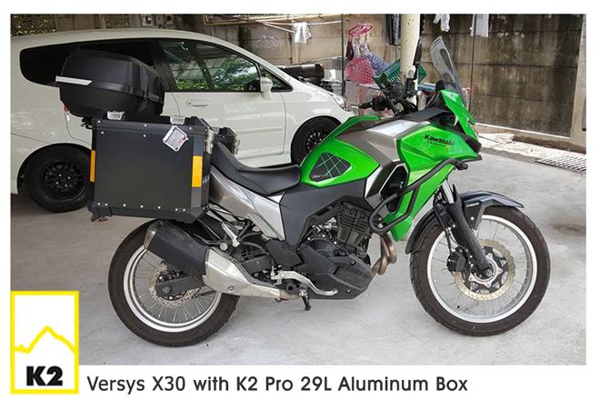 ราคาปี๊บพร้อมแร็ค Kawasaki Versys X300