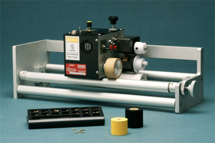 Friction-Driven Hot Ink Roll Rotary Coder