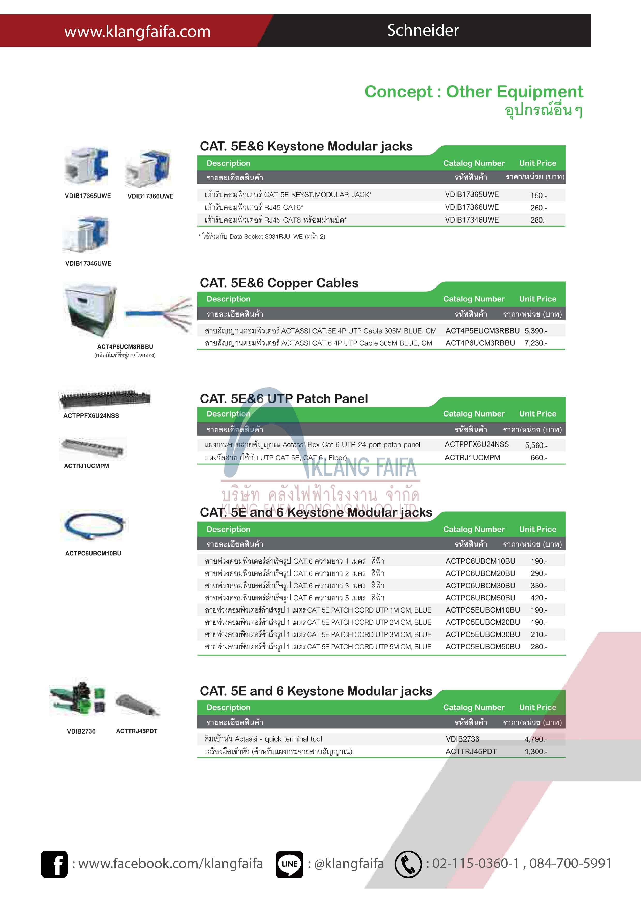 C-Concept, Concept, S-Flexi, Switches, Sockets, Schneider, หน้ากากเต้ารับ, Flush_Plate, FloorSocket, ฝาครอบกันน้ำ, easyclip, Catalog_Schneider_2019