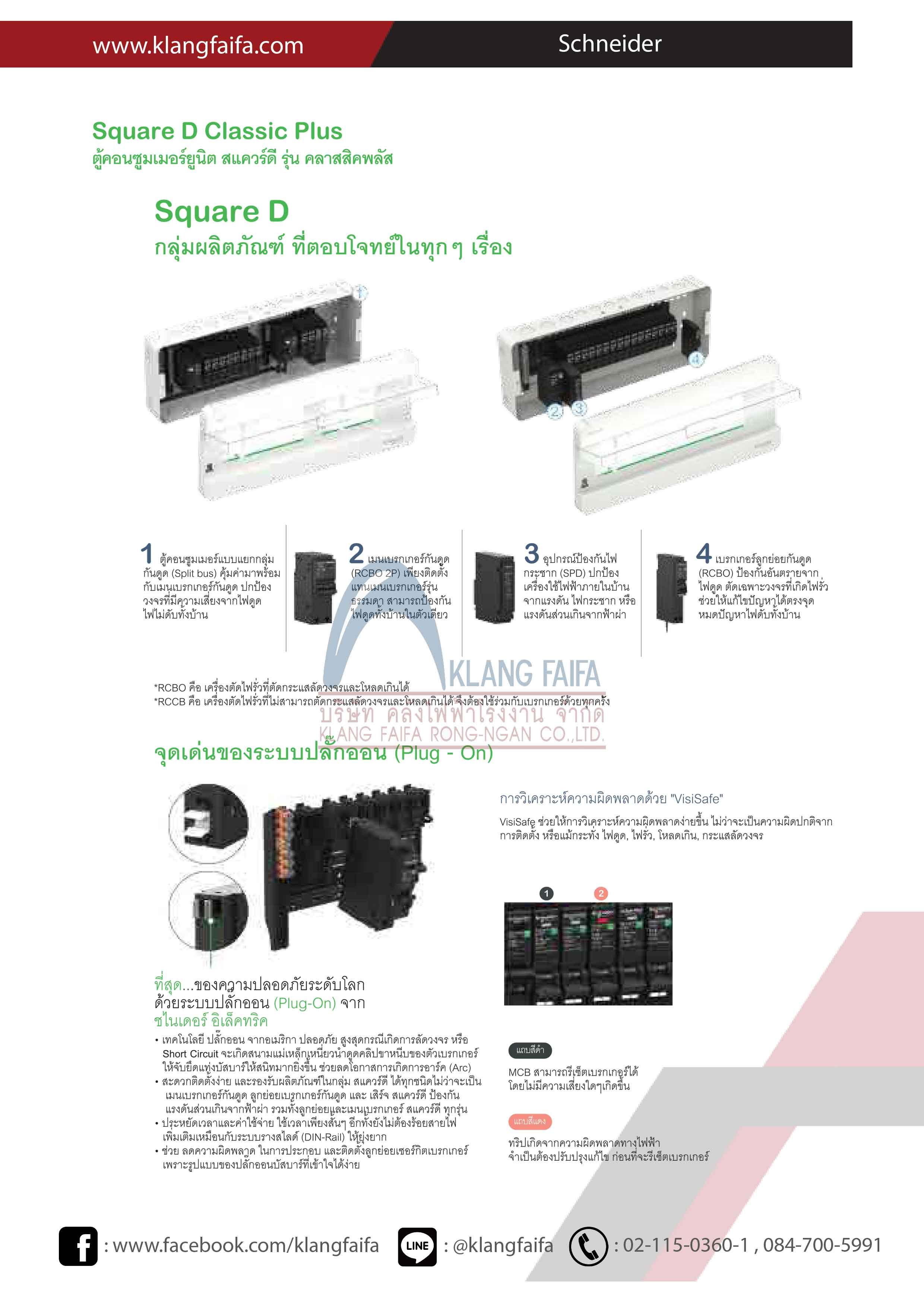 Schneider,-ชไนเดอร์,-Schneider2019,-Square-D-Classic-Plus-ตู้คอนซูเมอร์ยูนิต-สแควร์ดี-รุ่น-คลาสสิคพลัส