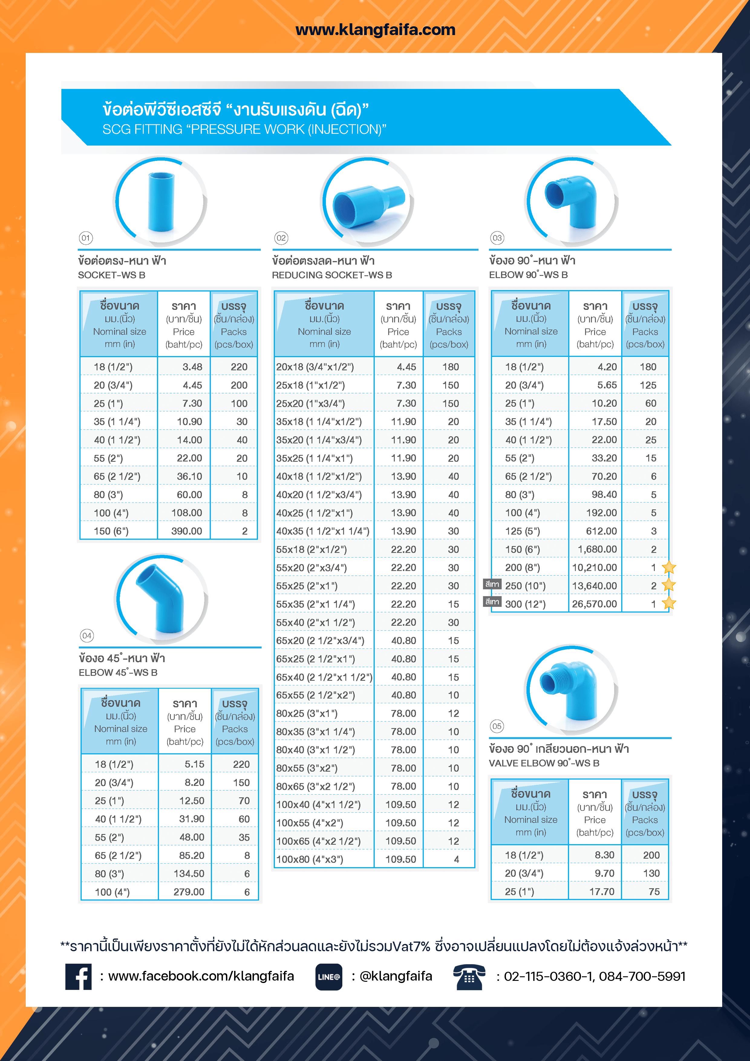 Catalog  SCG2021 ท่อน้ำ, ท่อฟ้า, ท่อSCG, ท่อพีวีซีสีฟ้า, ท่อสีฟ้า, ท่อตราช้าง
