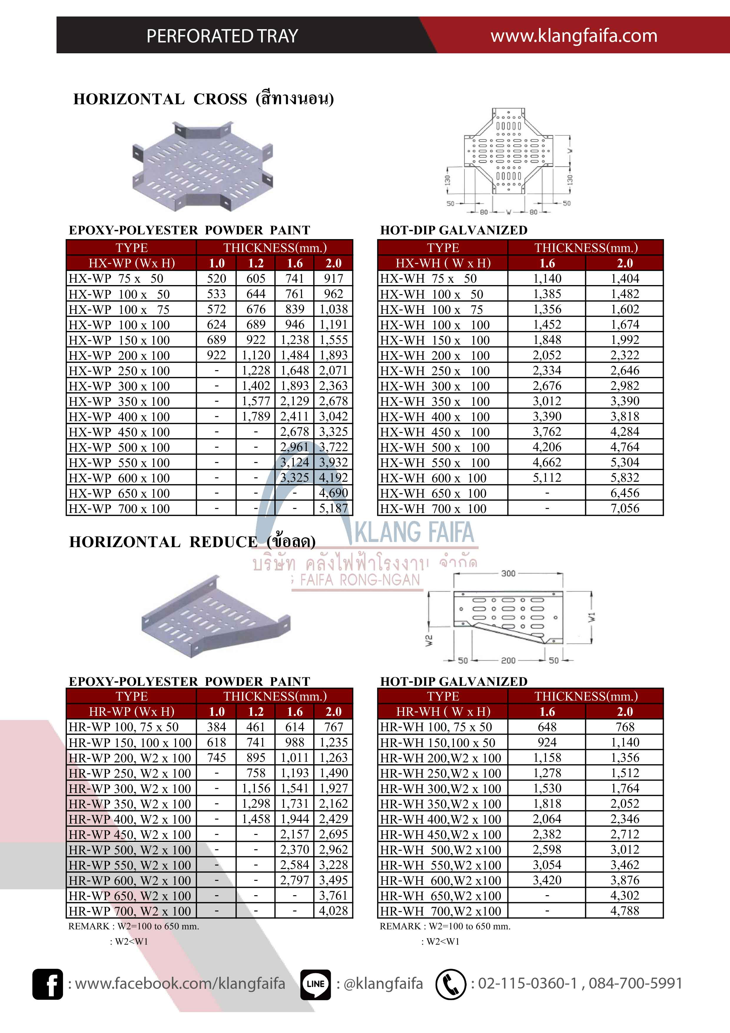 PERFORATED_TRAY,  EXPOXY_PERFORATED_TRAY,  HDG_PERFORATED_TRAY,  เฟอฟอเลทเทรย์แบบอาบสังกะสี , เฟอฟอเลทเทรย์พ่นสี, เทรย์เบา, เทรย์เบาพ่นสี,  TIC_Cable_Tray,  TIC_PERFORATED_TRAY_HDG