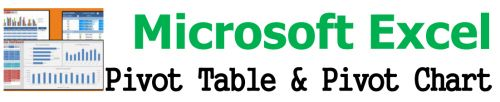 Microsoft Excel  Pivot Table & Pivot Chart,อบรมสัมมนา,เคเอ็นซี เทรนนิ่ง เซ็นเตอร์