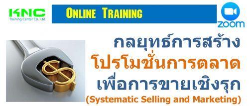 กลยุทธ์การสร้างโปรโมชั่นการตลาดเพื่อการขายเชิงรุก (Systematic Selling and Marketing)