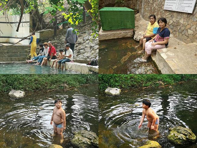 น้ำพุร้อนหินดาด ทองผาภูมิ กาญจนบุรี