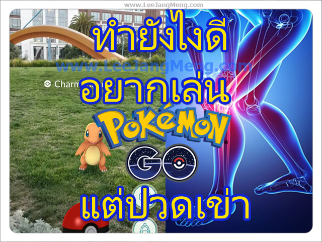 Pokémon GO,ปวดเข่า, Pokemon GO, PokemonGO,โรคปวดเข่า,อาการปวดเข่า,อาการโรคปวดเข่า,รักษาโรคปวดเข่า,รักษาปวดเข่า,การรักษาโรคปวดเข่า,การรักษาปวดเข่า,ป้องกันปวดเข่า,ป้องกันโรคปวดเข่า