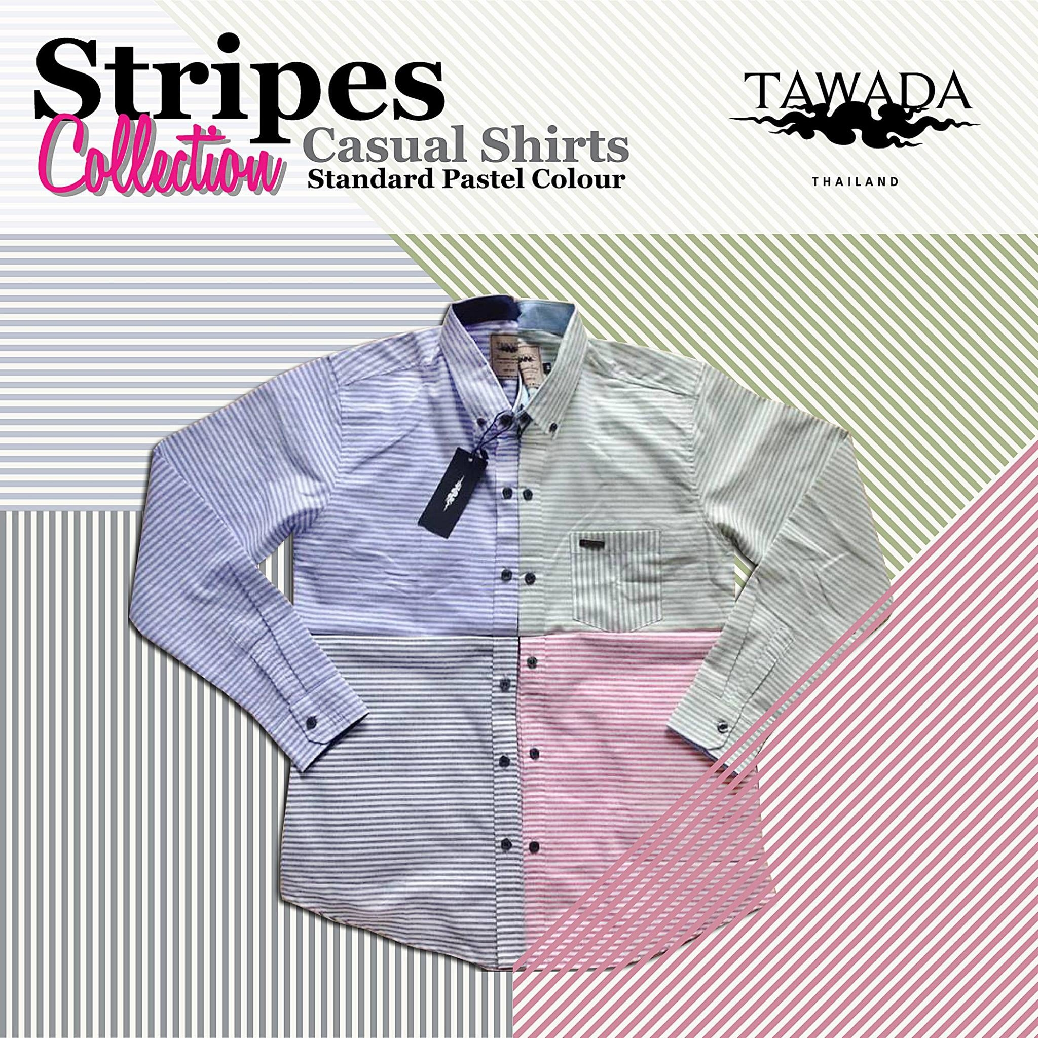 TAWADA Striped Collection - livingclck.com 089-9799902