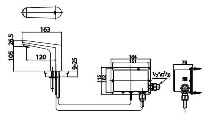 CT4902DC Dimension