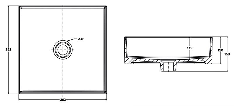 K-90011X-0  Dimension