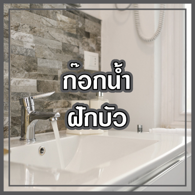 ก๊อกน้ำ ฝักบัว Faucet Shower