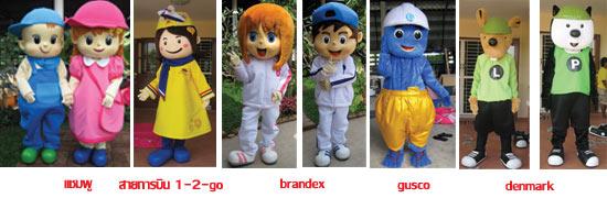 มาสคอต วันทูโก brandex gusco Denmark