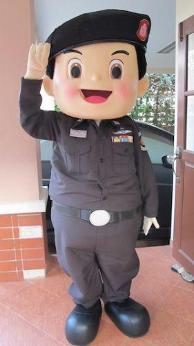 มาสคอต ตำรวจทางหลวง