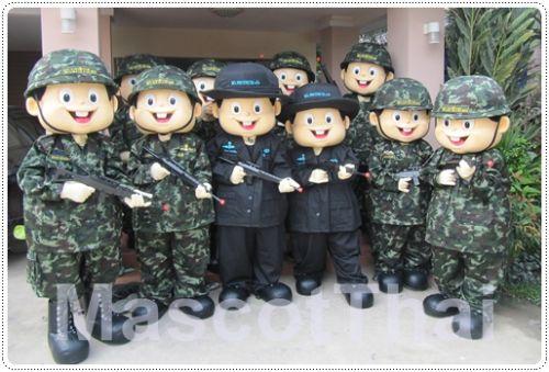มาสคอต ทหาร