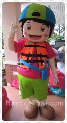 มาสคอต เด็กไทยไม่จมน้ำ