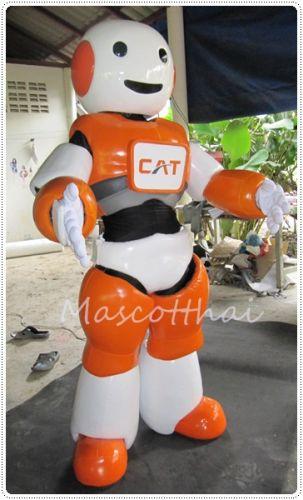 mascot มาสคอต หุ่นยนต์