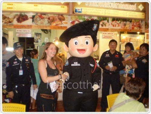 มาสคอต,ชุดมาสคอต,มาสคอตตำรวจ,mascot