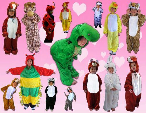 ชุดแฟนซีรูปสัตว์,ชุดแฟนซีการ์ตูน,ชุดแฟนซีเด็ก