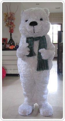 ชุดมาสคอต,หมีขาว