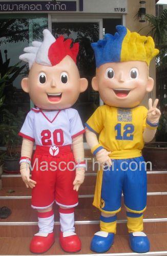 มาสคอต ฟุตบอลยูโร 2012