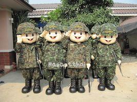 มาสคอตทหาร
