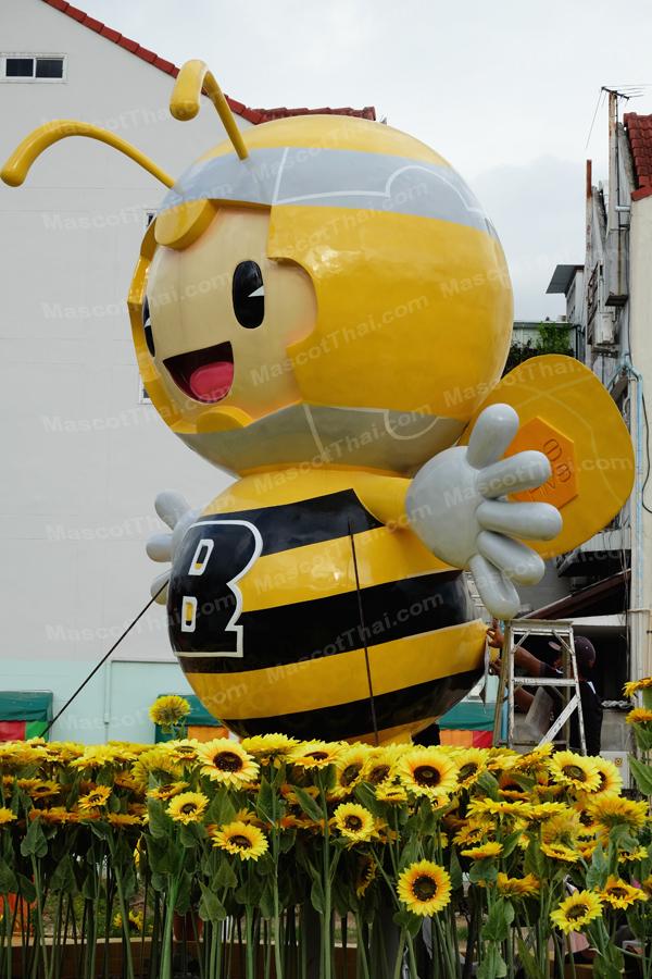 หุ่นไฟเบอร์ผึ้ง