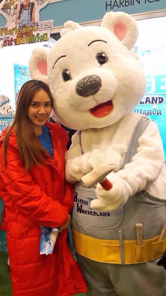 มาสคอต หมีขาว Harbin Ice Wonderland