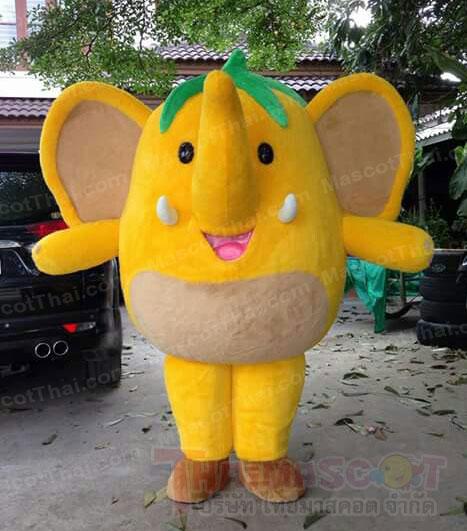 มาสคอตช้างกล้วย
