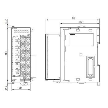 OMRON / INPUT MODULE / CJ1W-ID201