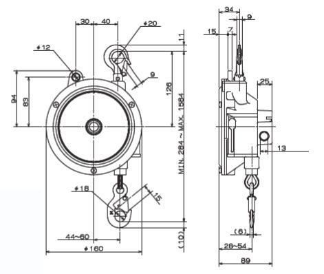 ENDO / Spring balancer / EWS-7